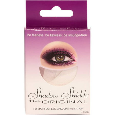 Shadow Shields The Original Eye Shadow Makeup Application Shields, 14 ct - Skeleton Eye Makeup