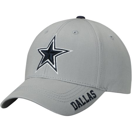 Men's Gray Dallas Cowboys Kingman Adjustable Hat - OSFA - Dallas Cowboys Cheerleaders Outfits