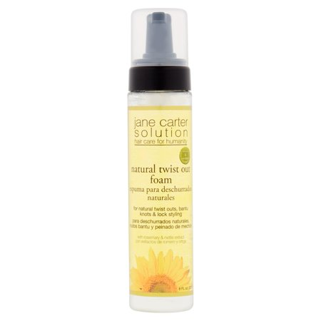 Jane Carter Solution Natural Twist Out Foam With Rosemary   Nettle Extract  8 Fl Oz