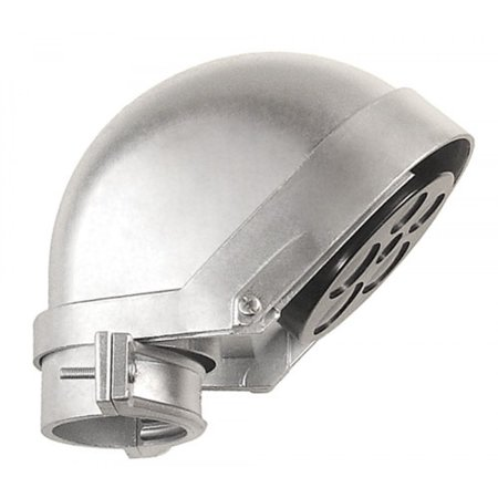 1 Pc, 1-1/2 In. Cast Zinc Service Entrance Caps to Bring Overhead Power to Buildings Or Homes