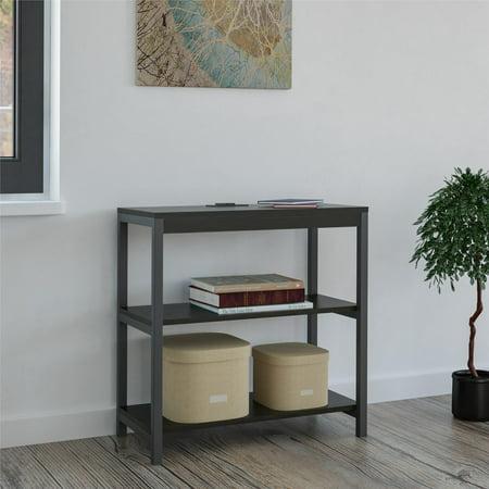 Rustic Corner Bookcases (Ameriwood Home Nickle Creek 3 Shelf Bookcase, Rustic Medium Oak )
