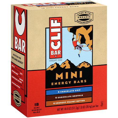 Clif Bar Mini Energy Bars, Variety Pack, 18ct