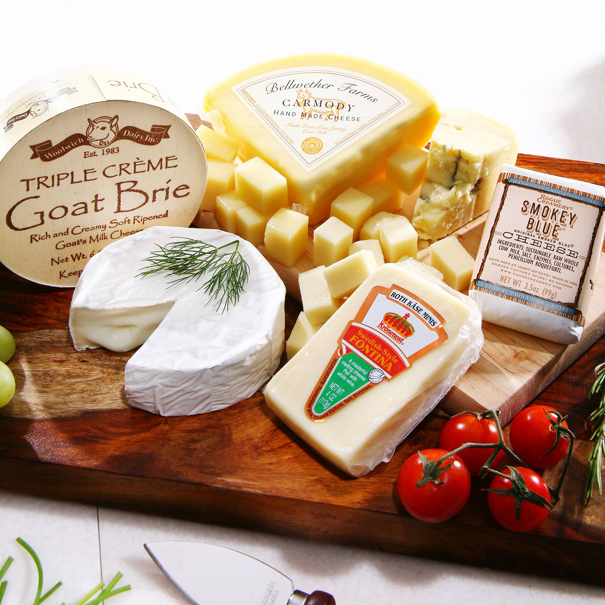 Alder Creek White Wine Cheese Pairing Gift Set, 5 pc