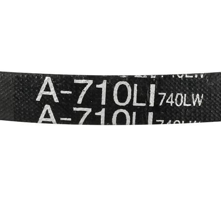 A-710/A28 Drive V-Belt Inner Girth 28-inch Industrial Power Rubber Transmission Belt - image 3 de 4
