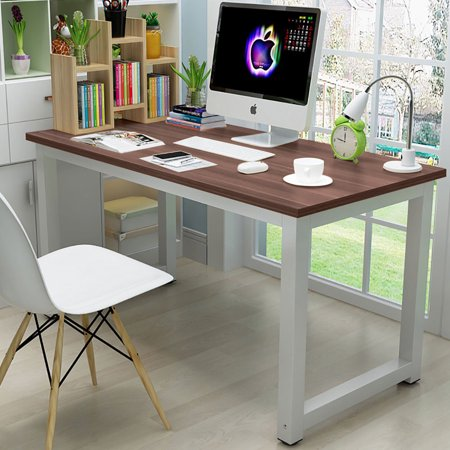 Ktaxon Wood Computer Desk PC Laptop Study Table Workstation Home Office Furniture