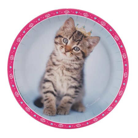 Cat Plate (Rachaelhale Glamour Cats Dinner Plates (48) )