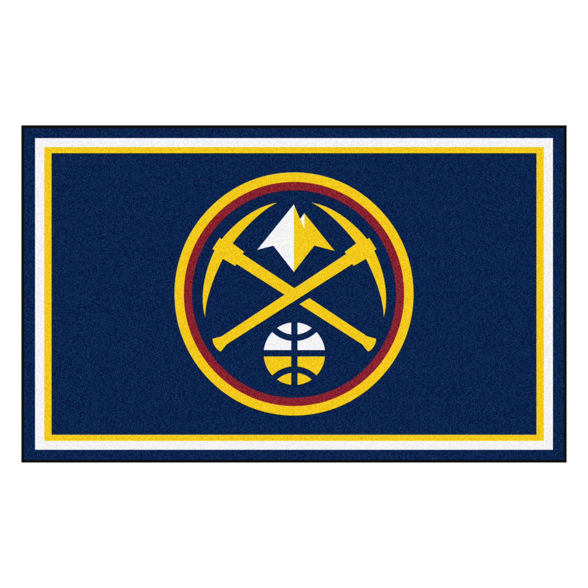 NBA - Denver Nuggets 4'x6' Rug