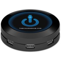 ChargeHub -X7 7 Port USB SuperCharger with Cables & DC Adapter for Cars