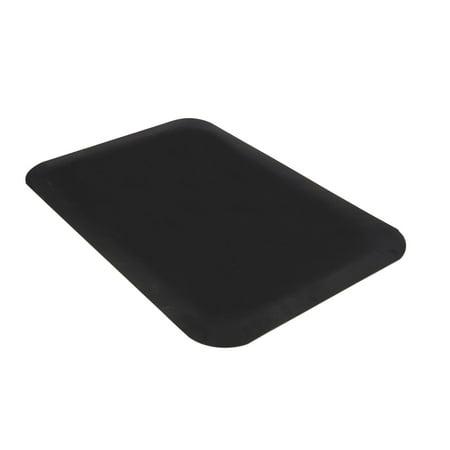Guardian Pro Top Indoor Anti-Fatique Floor Mat, Rubber, 2'x3', Black