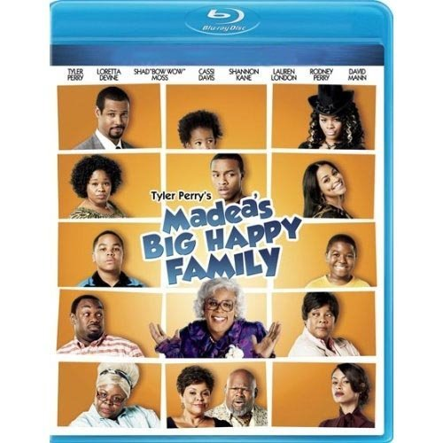 Tyler Perry's Madea's Big Happy Family: The Movie (Blu-ray) (With INSTAWATCH) (Widescreen)
