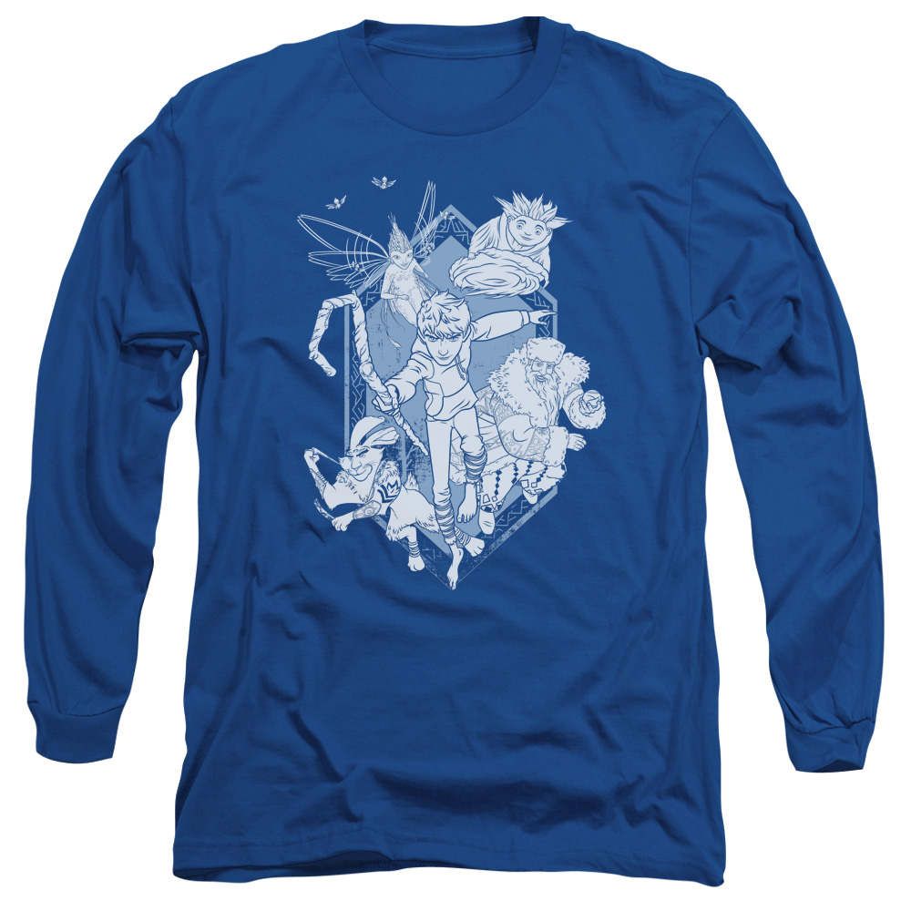 Rise Of The Guardians Coming For You Mens Long Sleeve Shirt