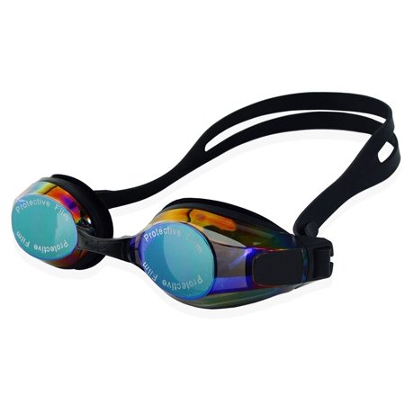 Ipow Swim Goggles Anti Fog Uv Protection Swimming Goggle No Leaking Glasses For Men Women Adult Youth Kids Triathlon   Goggles Case  Black