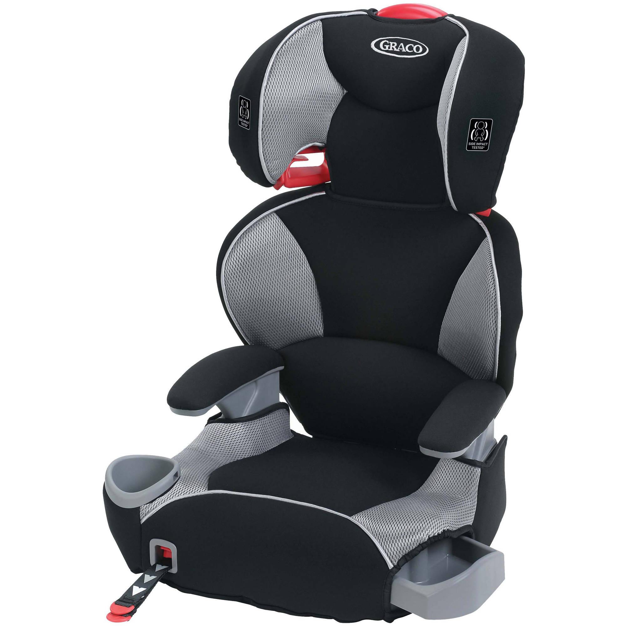 Graco AFFIX Highback TurboBooster LX Car Seat Booster Seat, Matrix