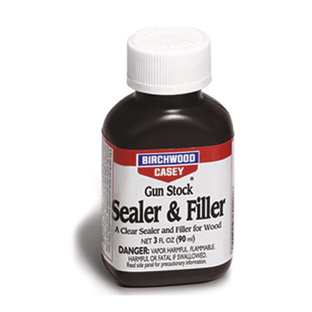 BIRCHWOOD CASEY GUN STOCK SEALER/FILLER GUN 3 OZ