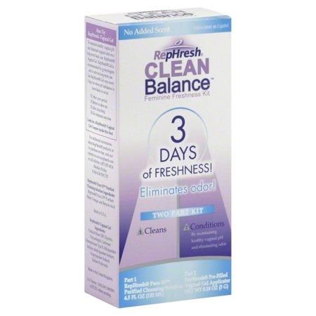 RepHresh Clean Balance Feminine Freshness Two Part Kit, 1.0 KIT