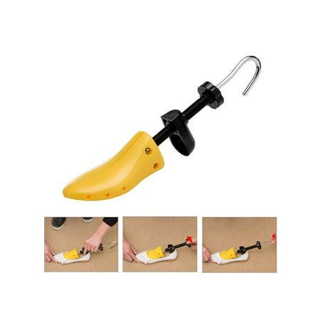 - Two Way Adjustable Shoe Stretchers Length and Width Shoe Stretcher Women Tough Plastic Unisex Shoes Stretcher for Men and Women