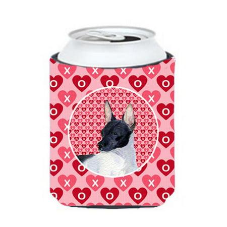 Rat Terrier Can Or bottle sleeve Hugger - 12 oz.