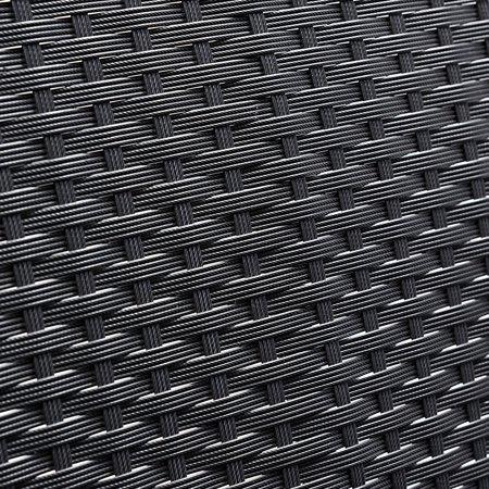 Gymax Patio Garden 4PC Rattan Wicker Furniture Set Black - image 4 of 9