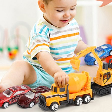 Alloy Engineering Car Mini Model Simulation Car Vehicle Toy for Children - image 2 of 5