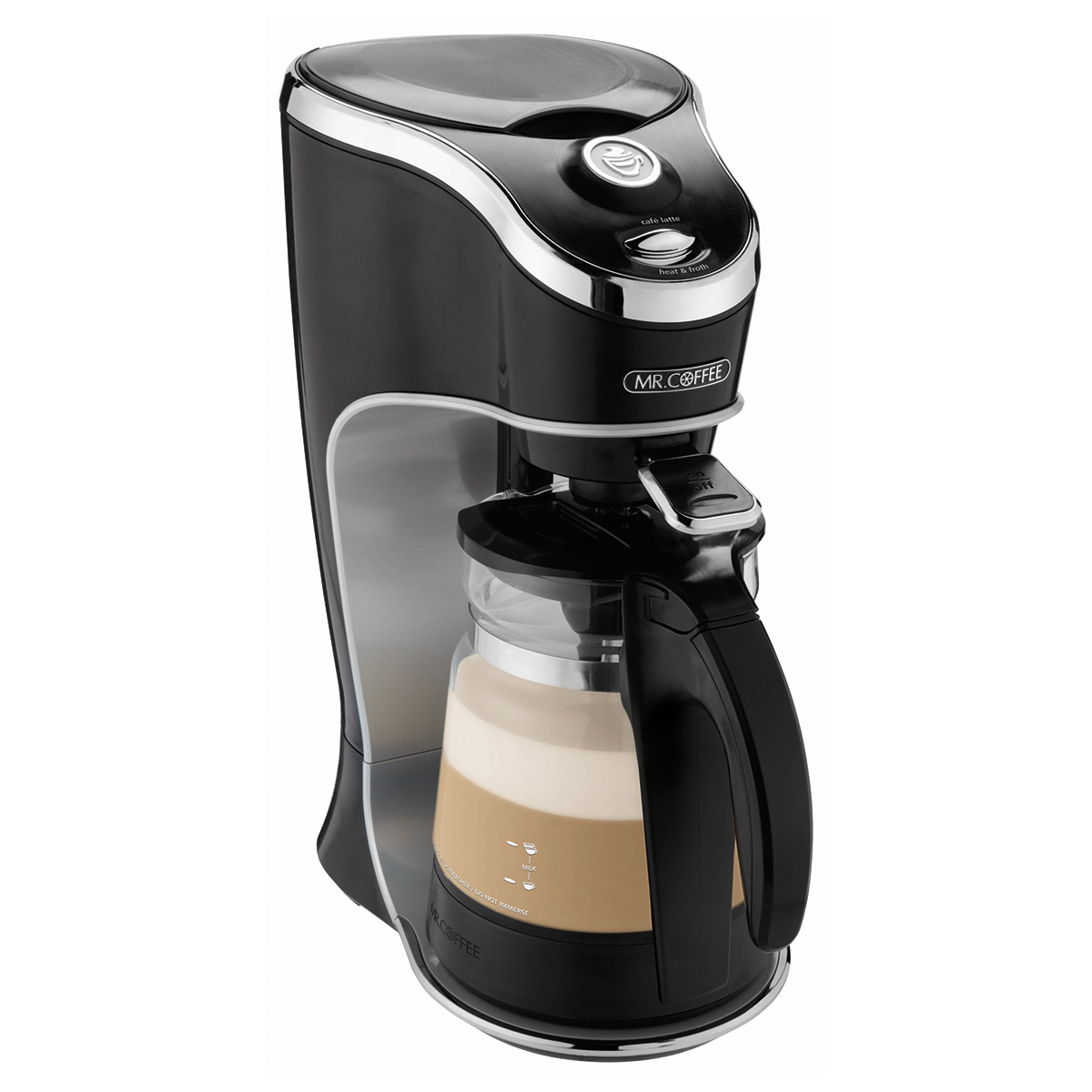 Mr Coffee Cafe Latte Home Brewer Black BVMC EL1 Walmart