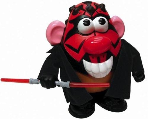 Disney Star Wars Darth Maul Potato Head Mash Doll by