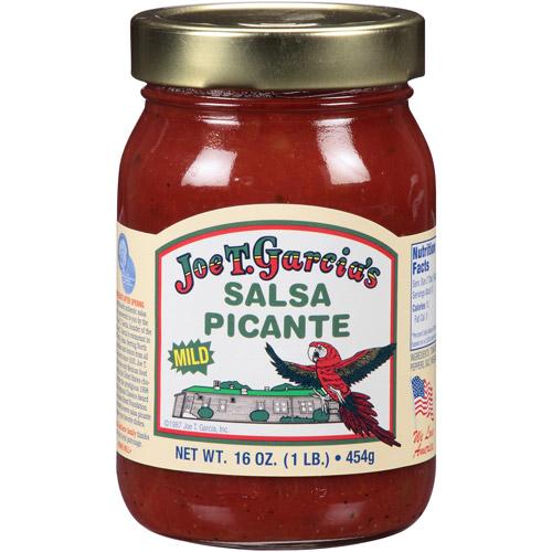 Joe T Garcia's Mild Picante Salsa, 16 Oz