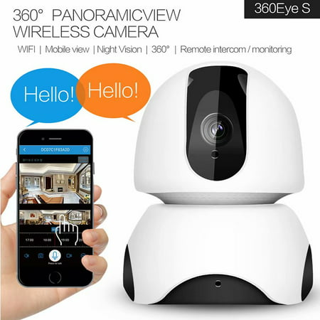 Cyber Monday Clearance!!Wireless IP Security Camera,WiFi Home Indoor Camera for Pet Baby, Remote Surveillance Monitor Android, iOS App, Motion Detection, 2 Way Audio Night (Best Security App For Android 2019)