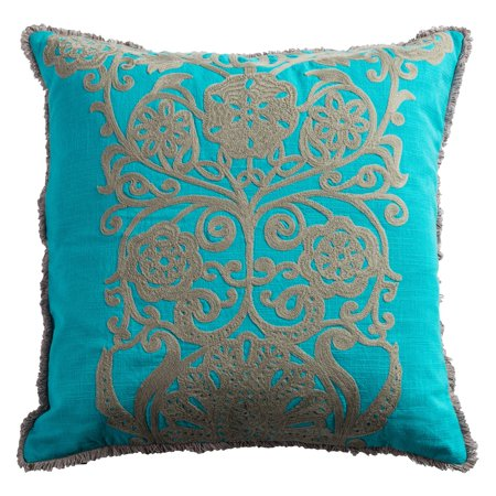Rizzy Home T0885 Decorative Throw Pillow - Walmart.com