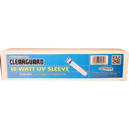 Danner Eugene Pond P-Uv Sleeve For Clearguard 5500/8000 Filter 18 Watt