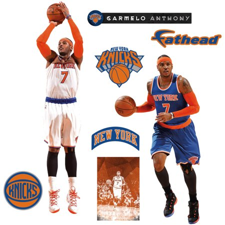 Fathead Carmelo Anthony Home Away Teammate Player