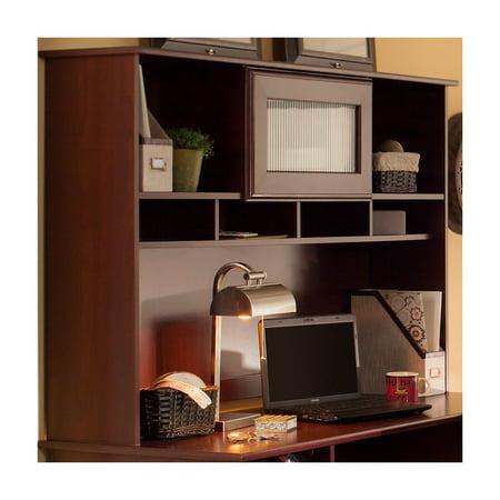 Bush Cabot 60 Quot Corner Computer Desk With Hutch Espresso
