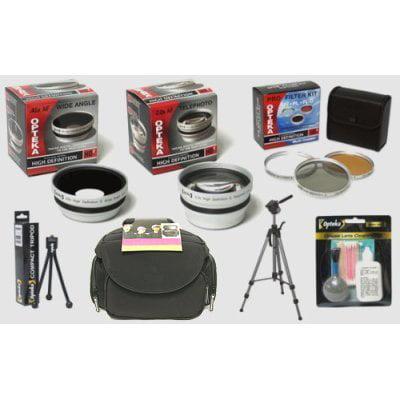 Panasonic Lumix DMC-FZ18 & DMC-FZ28 Digital Camera HD2 Professional Digital Accessory Kit (Panasonic Dmc Fz28)