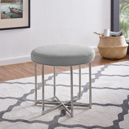 Edmin Small Space Side Table Stool Midcentury Modern