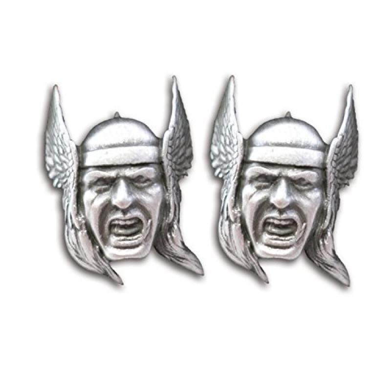 Marvel Comics Mighty Thor 3-D Face Metal Cufflinks with Gift Box U.K NEW UNUSED