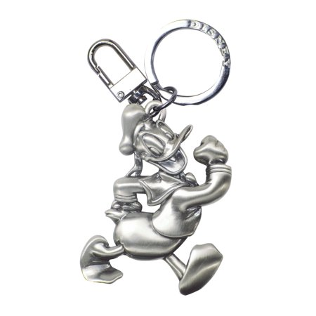 Donald Duck Pewter Keychain (Pewter Duck)