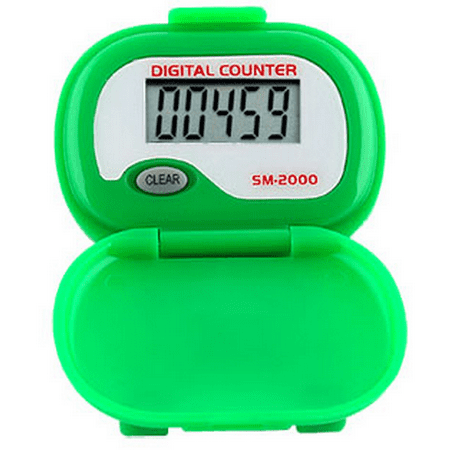 SM2000 Step Pedometer - Green -