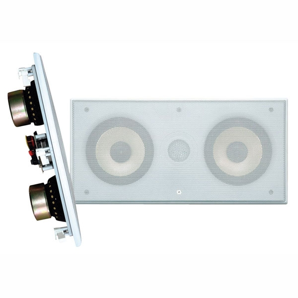 "Pyle Dual 5.25"" 2 Way-IN-Wall Center Channel Speaker System"