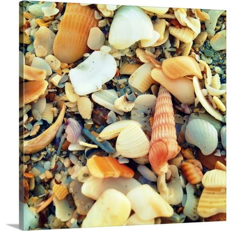 Wrapped Sea Glass - Great BIG Canvas | Lisa Hill Saghini Premium Thick-Wrap Canvas entitled Sea Glass II