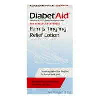 Diabetaid Pain & Tingle Relief Lotion, 4 Fl Oz