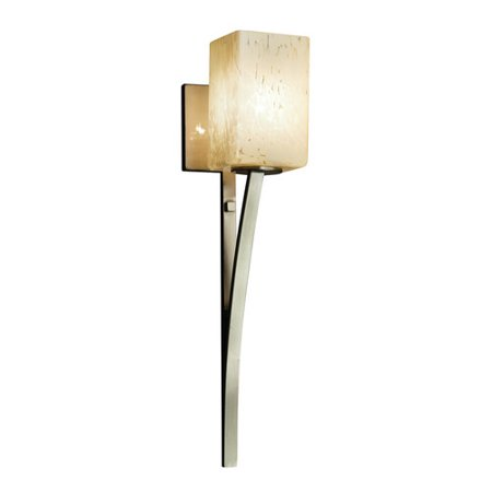 Justice Design Group Fusion Sabre 1 Light Wall Sconce
