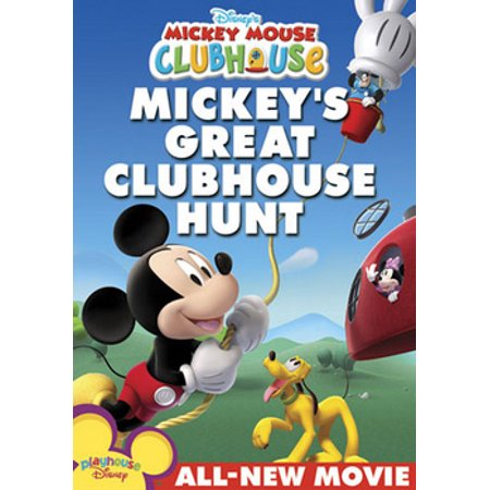 Mickey Mouse Clubhouse: Mickey's Great Clubhouse Hunt (DVD) (Mickey Mouse Club Halloween Episode)
