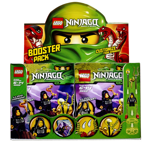 lego ninjago lloyd garmadon booster pack