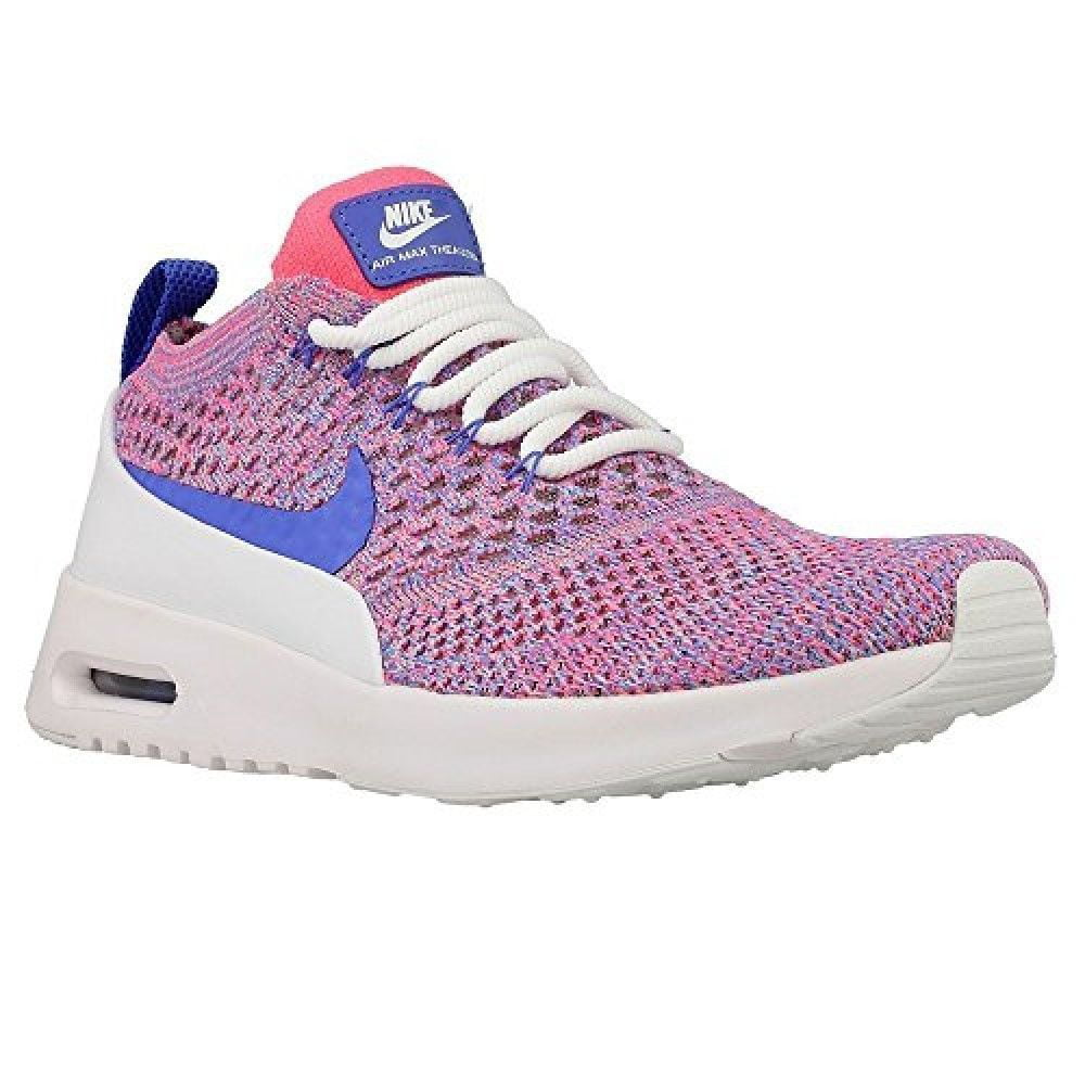 Nike Women's Air Max Shoes Thea Ultra Flyknit Running Shoes Max Pink Blue White 881175-800 Size 8 US 8cb97b