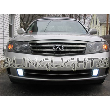 2003 2004 Infiniti M45 Bright White Bulbs For Fog Lamps Driving