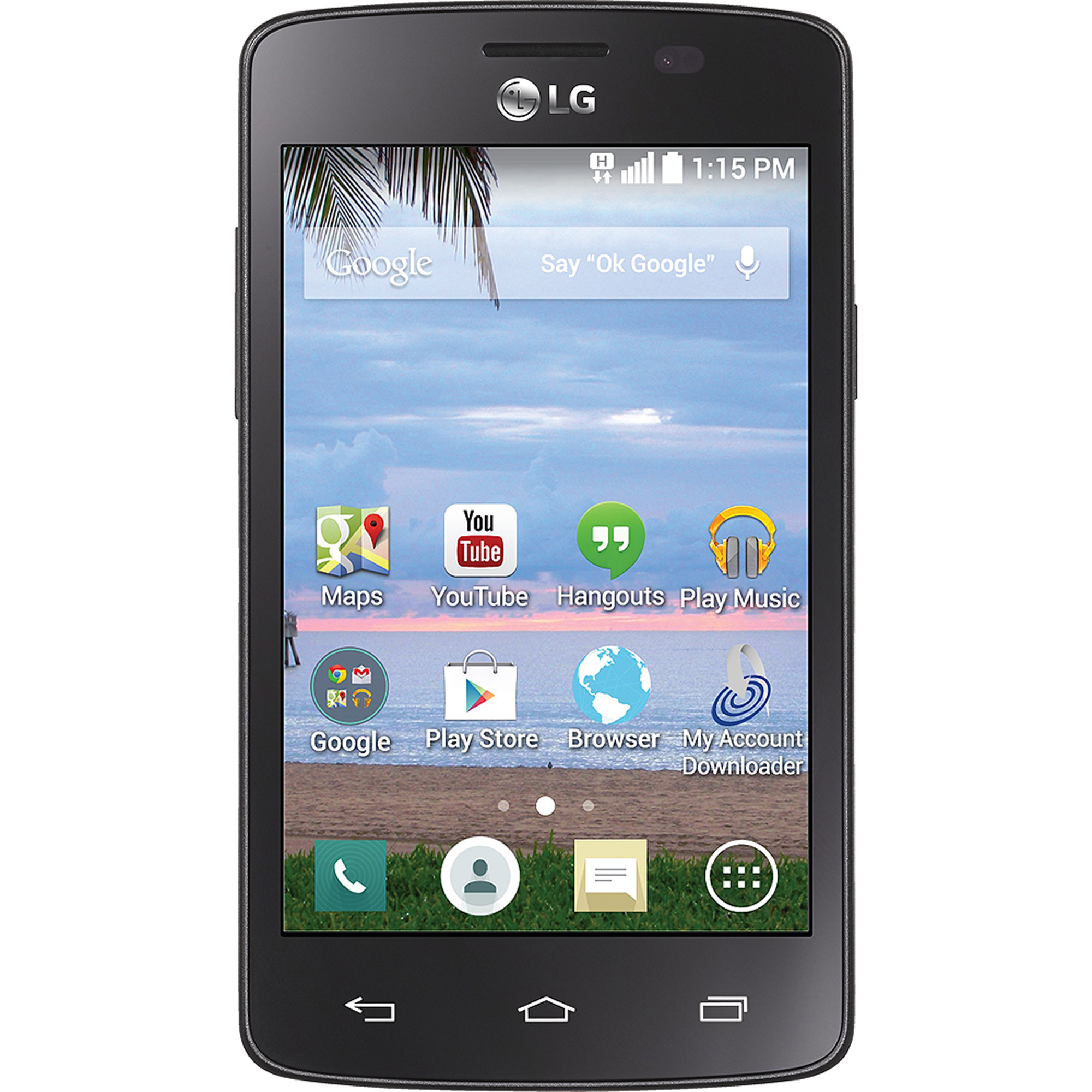TracFone LG Sunrise Android Prepaid Smartphone