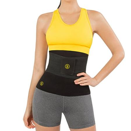357cf7ea58 Hot Shapers Hot Belt with Instant Trainer - Body Slimming Hourglass Waist  Trimmer - Walmart.com