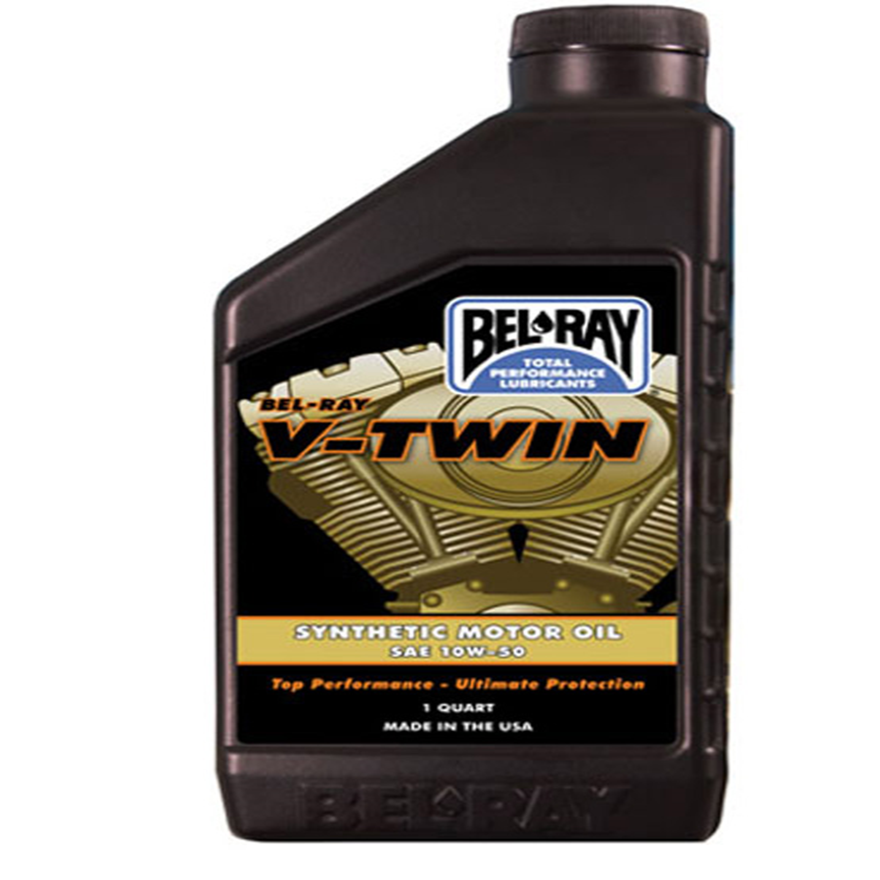 BEL-RAY V-TWIN SYNTH ENGINE OIL 10W-50 (QT)