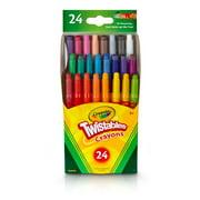 Crayola Twistables Mini Crayon Set, 24-Colors
