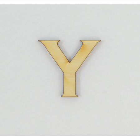 1 Pc, 8 Inch X 1/4 Inch Thick Wood Letters Y In The Copperplate Gothic Bold Font Great For Craft Project & Different Decor - Letter Y Crafts