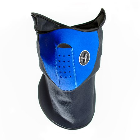 Neoprene Face and Neck Mask - Blue